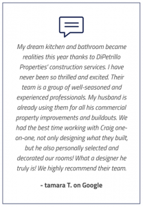 DiPetrillo Properties testimonial